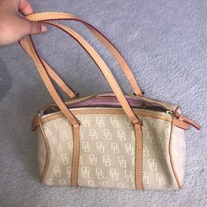 Dooney and bourke gold purse